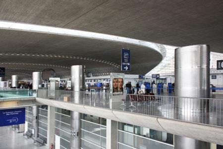 フランスの空の玄関口、パリ「シャルル・ド・ゴール空港」