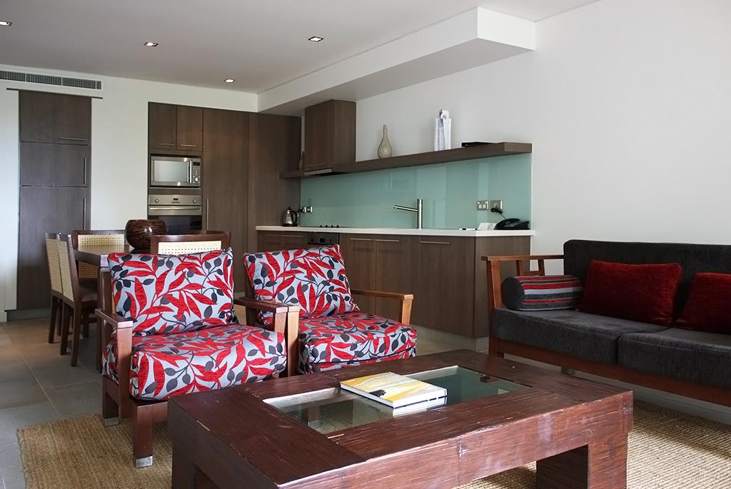 滞在型ホテルのため部屋は広く設備も充実