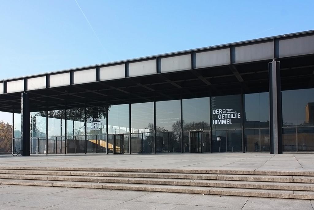 ミース設計のベルリン「新ナショナルギャラリー」