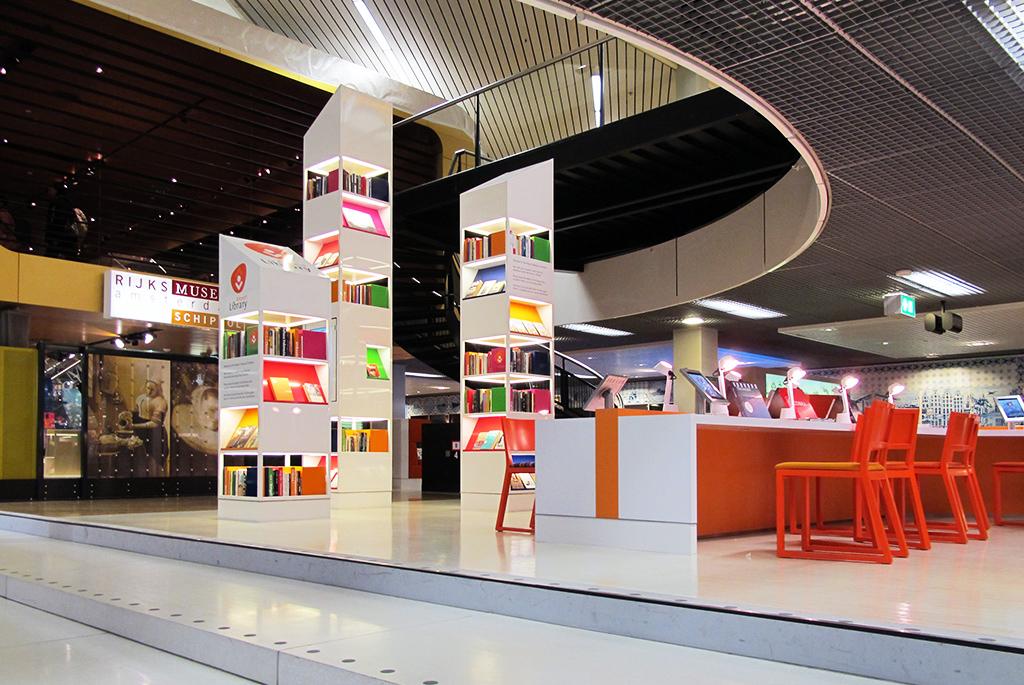 世界初の空港図書館