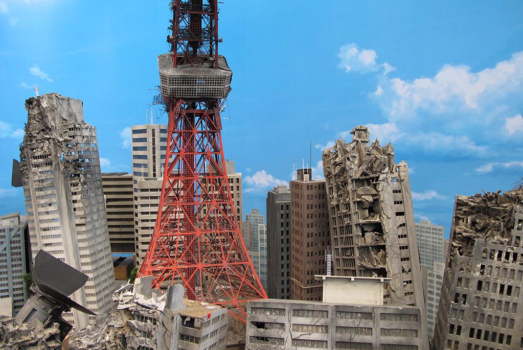 特撮短編映画「巨神兵東京に現わる」で使用された東京タワー