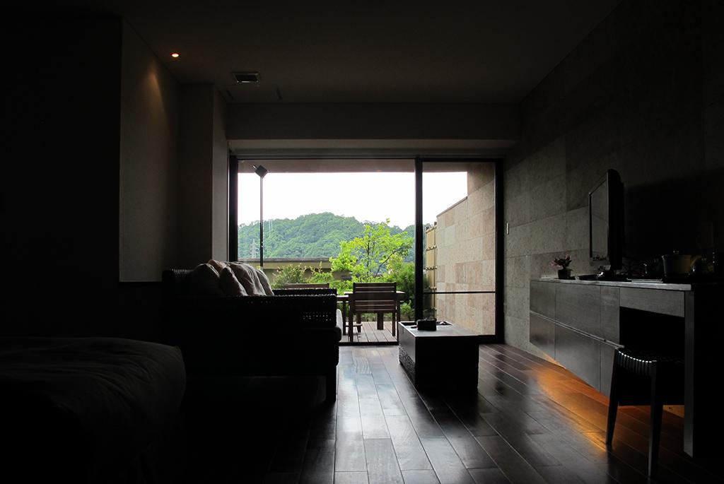 客室から伊豆の自然を一望