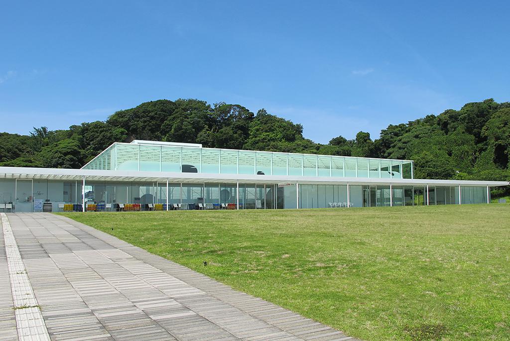 観音崎公園の自然に囲まれた美しい美術館