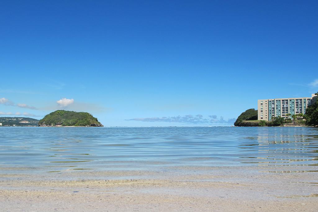 無人島へ探検に行けるビーチ