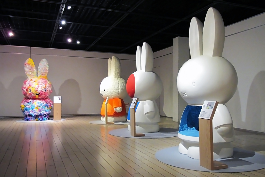 日本のアーティストが作成したオリジナル・ミッフィー