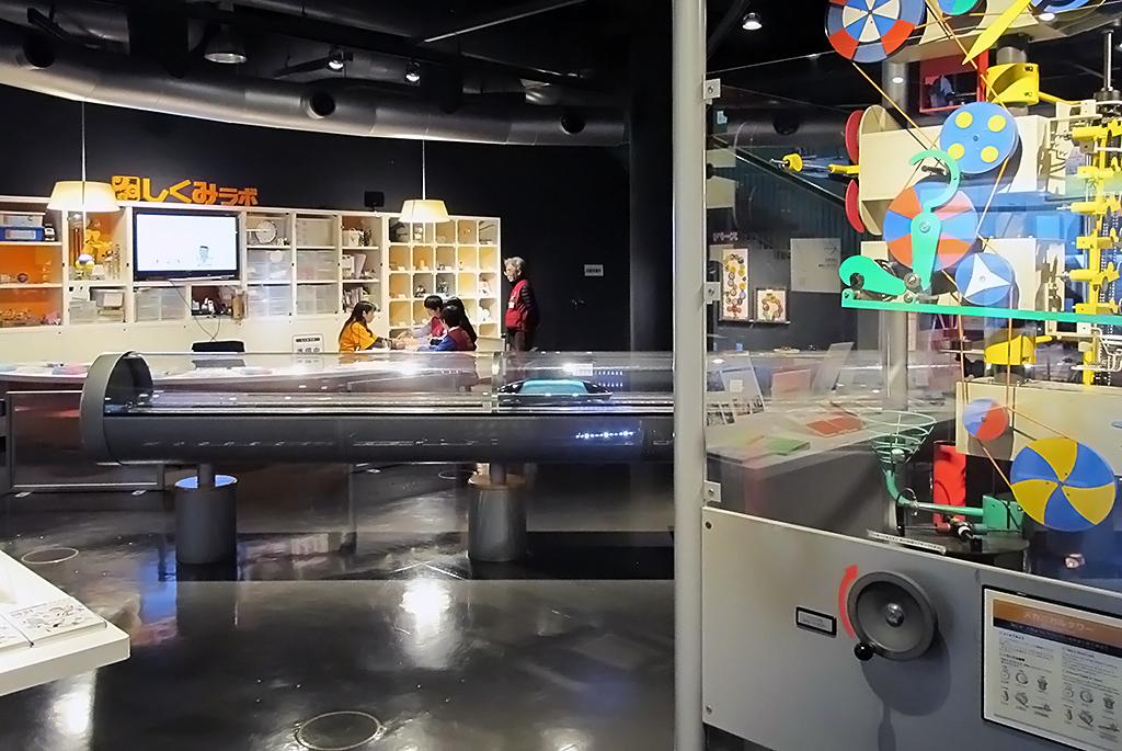 機械やエネルギーのシステムを学べる「しくみの部屋」