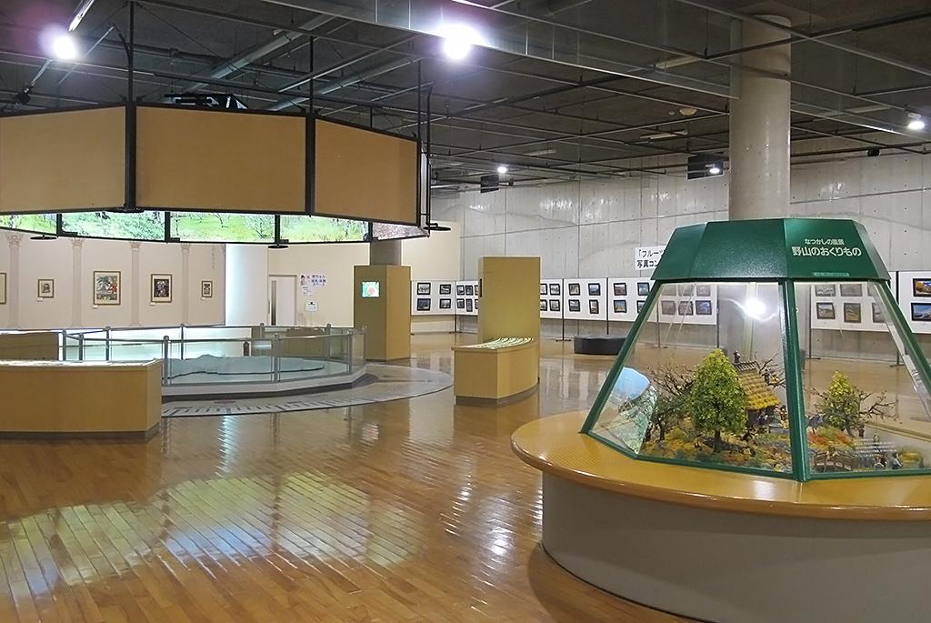 果物の歴史などが展示されている「くだもの館」