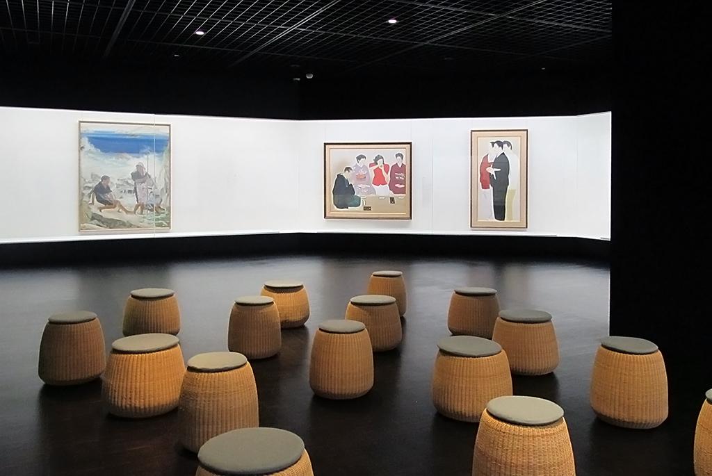 3階の日本画展示室