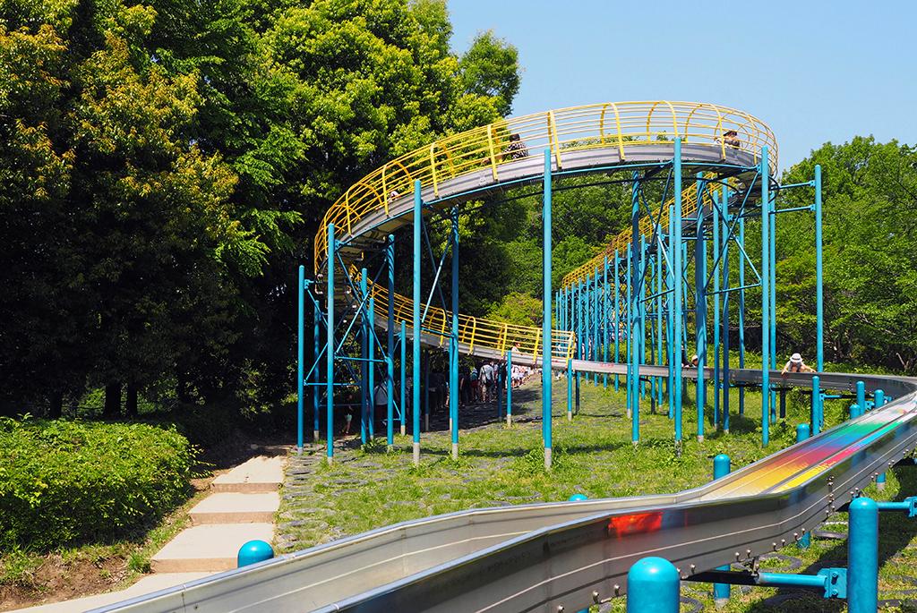 横浜で一番長い110mの「ローラーすべり台」