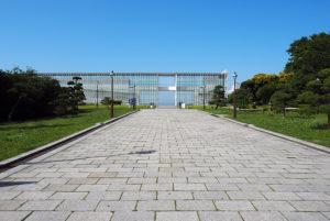 限りなく透明な展望台、葛西臨海公園「クリスタルビュー」