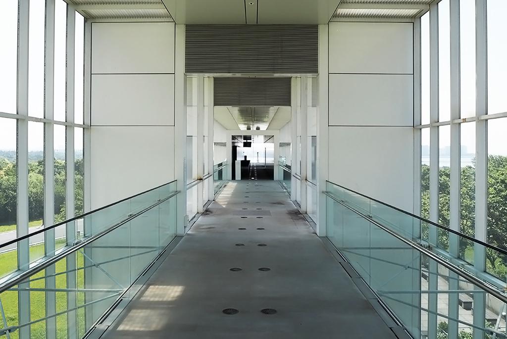 2階の展望スペースへ繋がる通路