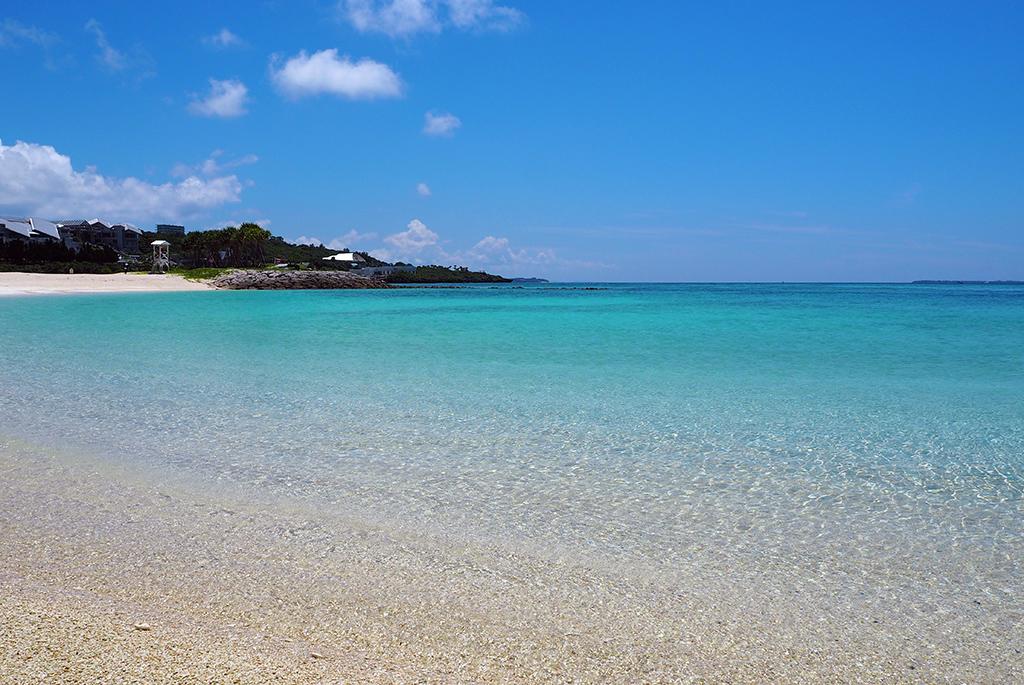 沖縄本島でも屈指の透明度