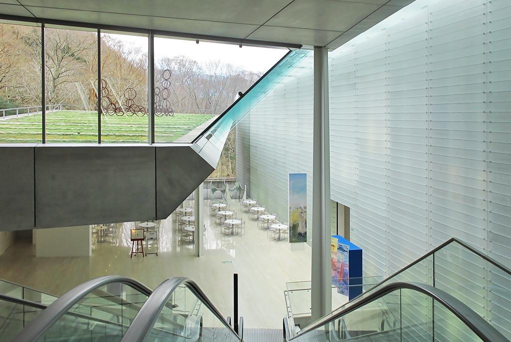 展示品から施設まで質の高い「ポーラ美術館」