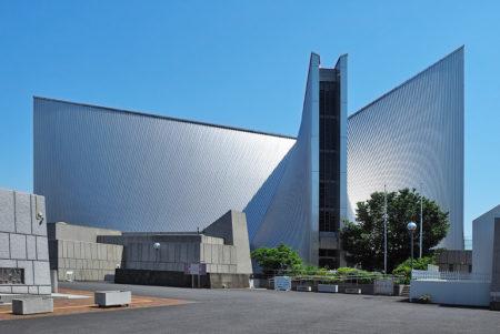 丹下健三の代表作、関口「東京カテドラル聖マリア大聖堂」
