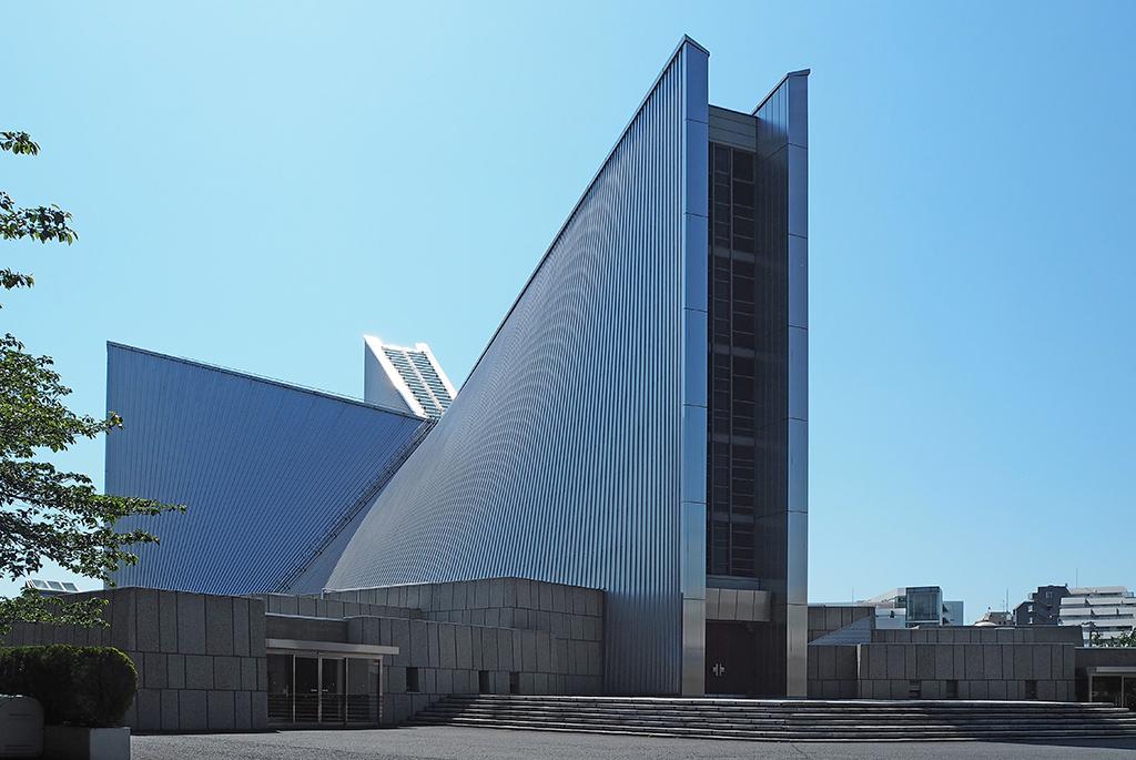 50年以上前の建築とは思えない洗練されたデザイン