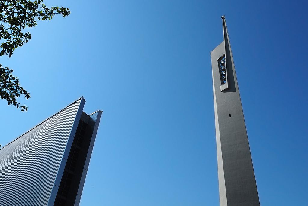 高さ61.68メートルの「鐘塔」