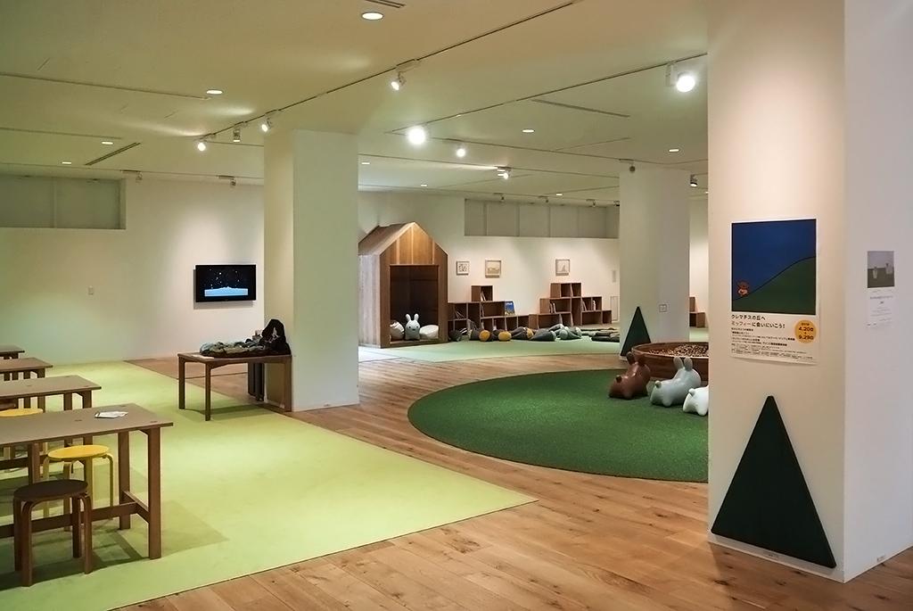 遊びながらアートに触れるビュフェこども美術館