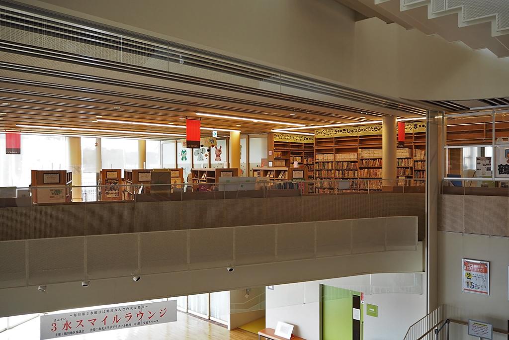 図書館は市内第4位の蔵書規模
